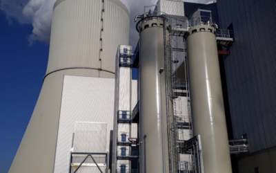Installation of activated carbon dosing systems at the Lippendorf Power Plant