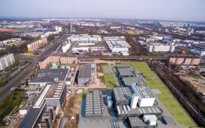 New construction of the combined heat and power plant Marzahn