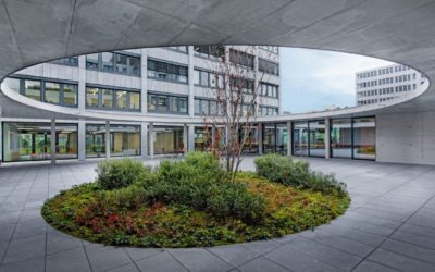 New Build and Renovation of GFT Corporate Center in Stuttgart