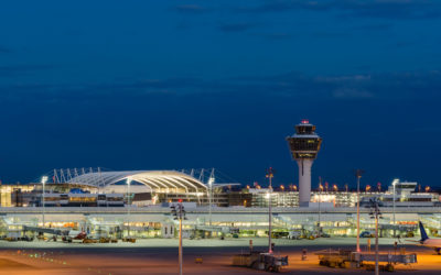 New Build Satelite Terminal at Munich Airport
