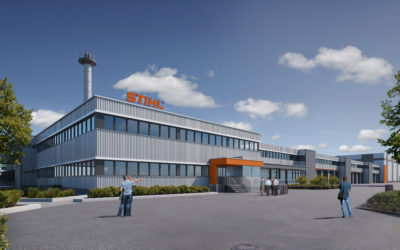 Stihl Reorganization and Site Development in Ludwigsburg